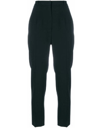 Alexander McQueen Crepe Tapered Trousers