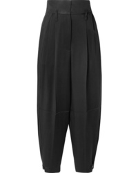 Givenchy Ed Satin Crepe Tapered Pants