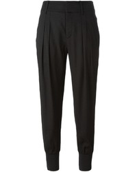 Helmut Lang Pleated Tapered Trousers