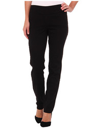 Miraclebody Jeans Janis Pull On Tapered Sueded Sateen
