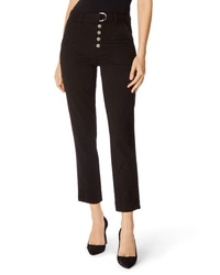 J Brand Kyrah High Waist Crop Cigarette Pants