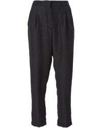 MSGM Pleated Tapered Trousers