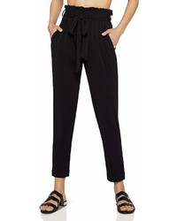 BCBGeneration Paperbag Waist Tapered Pants