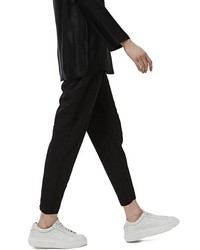 Pleated tapered trousers medium 1055626