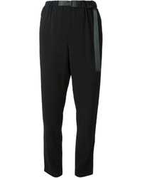 Proenza Schouler Crepe Tapered Trousers