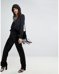 Vero Moda Split Hem Trousers