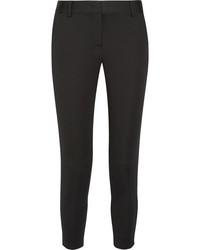 DKNY Stretch Twill Tapered Pants Black