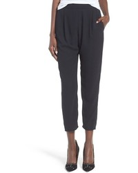 Tapered crepe trousers medium 1055629