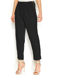 Calvin Klein Tapered Pleat Front Pants