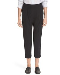 Vince Pull On Tapered Crop Trousers
