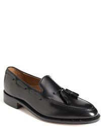 Black Tassel Loafers