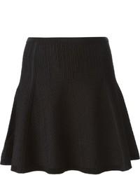 Diane von Furstenberg Textured Flared Skirt