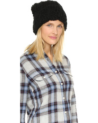 1717 olive cuffed pom beanie hat medium 355006