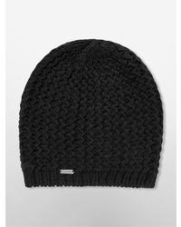 ... Calvin Klein Chunky Knit Beanie f212479c907