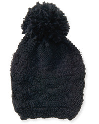 Solid Cabled Beanie