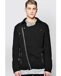 Lux knitted biker jacket medium 395348