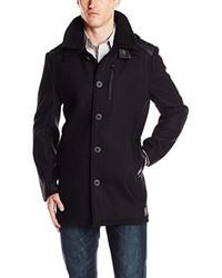 Buffalo David Bitton Jinney Textured Heavy Wool Coat