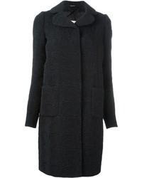 Maison Margiela Wrinkle Effect Textured Coat