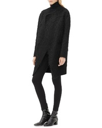 Sandro Maryon Textured Coat