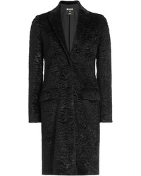 MSGM Textured Coat With Cotton