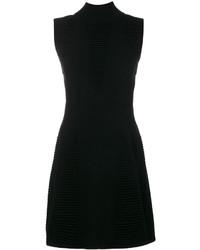 Versace Jeans Sleeveless Textured Dress