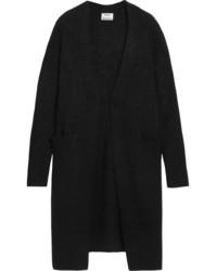 Raya textured stretch knit cardigan black medium 5084001