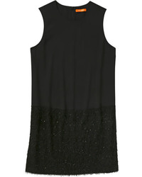 Joe Fresh Textured Hem Dress Black