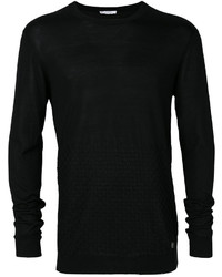 Versace Collection Textured Sweatshirt