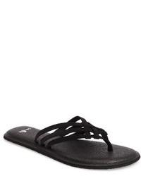 Sanuk Yoga Salty Flip Flop