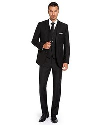 Black Three Piece Suit