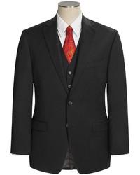 Ralph Lauren Lauren By Lahey Black Suit
