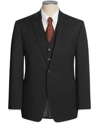 Ralph Lauren Modelcurrentbrandname Lauren By Solid Wool Suit 3 Piece