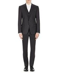 Dolce & Gabbana Three Piece Martini Suit Black
