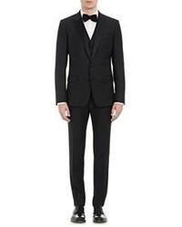 Dolce & Gabbana Three Piece Martini Tuxedo Black