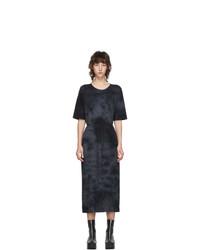 Raquel Allegra Black Tie Dye T Shirt Dress