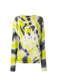 Prada Tie Dye Knitted Sweater