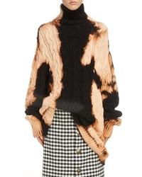 Balenciaga Bleached Turtleneck Sweater