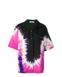 Prada Oversized Tie Dye Shirt