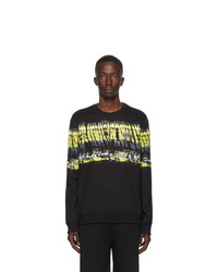 Valentino Black Vltn Pop Skin Print Sweatshirt
