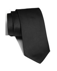 BOSS HUGO BOSS Woven Silk Tie Black Regular