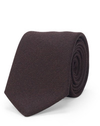 Club Monaco Twill Striped Wool Tie