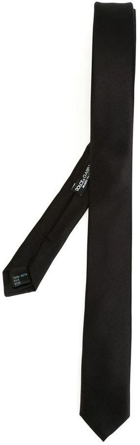 slim tie - White Dolce & Gabbana CfgMp8Zw9B