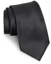 Nordstrom Shop Solid Satin Silk Tie