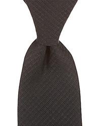 Murano Solid Grid Narrow Tie