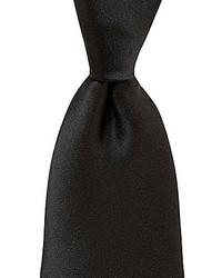 Murano Solid Narrow Silk Tie