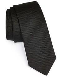 Saint Laurent Yves Knit Silk Tie