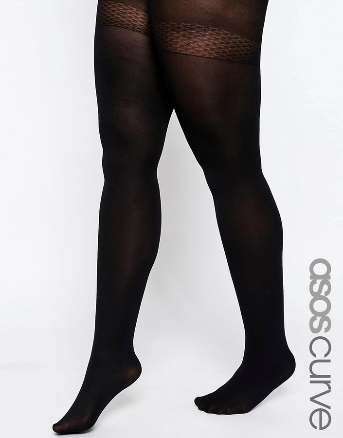 f38b3886a ... Asos Curve Curve Skin Firming Support 120 Denier Tights