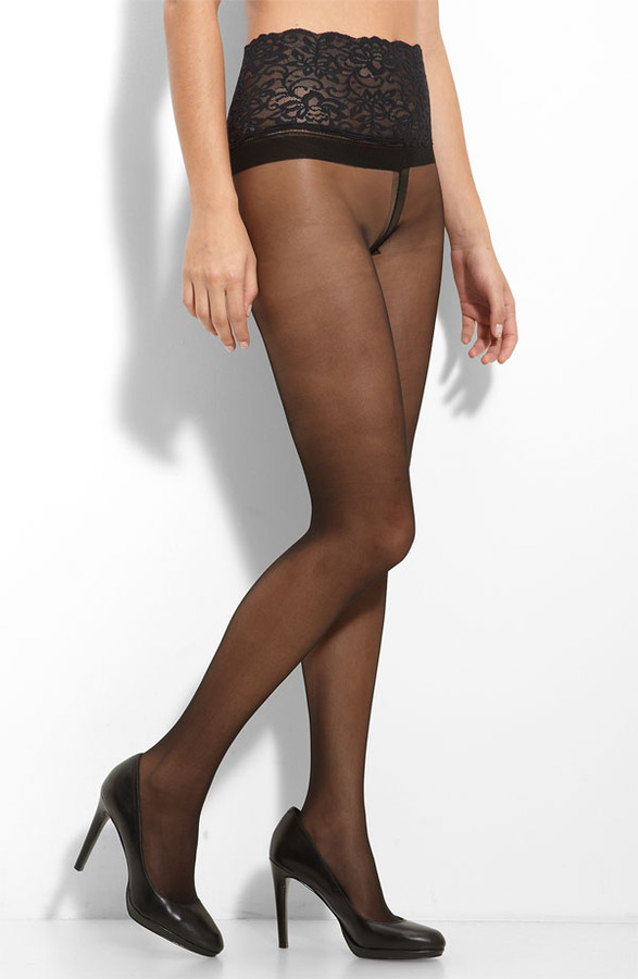 Sheer tights pics