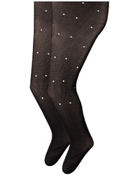 Jefferies Socks Dress Up Diamond Tights 2 Pack Hose