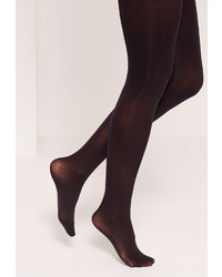 Missguided 50 Denier Tights Black